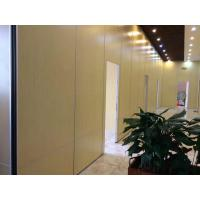 Wholesale Melamine Surface Interior Door Sliding Wall Track MDF Movable Partition for Indian Restaurant from china suppliers
