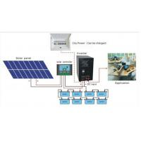 Wholesale high quality 5kva solar inverter with built-in charge controller mppt from china suppliers