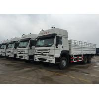 Buy cheap Light Goods HOWO Economic Cargo Vehicles 25 Tons 6X4 LHD Euro 2 290 HP Two Berth from Wholesalers