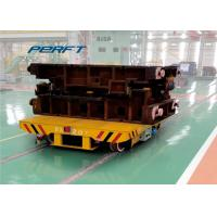 Wholesale 100T Motorized Industrail Standards Powered Trolley Cart For Rail Transportation from china suppliers