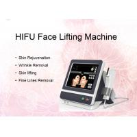 Buy cheap 5 Cartridges Intensity Focused HIFU Face Lifting Machine For Body Wrinkle from wholesalers
