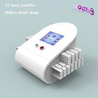 Wholesale Dual Wave Length Laser Liposuction Slimming Machine 208 Mitsubishi Diodes 100MW Lipolaser from china suppliers