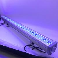 China Waterproof DMX 4IN1 RGB LED Wall Washer 24*10W Outdoor High Power LED Light Bar on sale