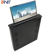 Wholesale Brushed Aluminum Alloy  Panel Conference Table LED Screen Lifting Up Mechanism 17.3 Inch Screen from china suppliers