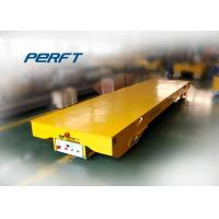 Wholesale Low Voltage Rail Transfer Cart For Workshop Cargo Delivery , Table Size Customized from china suppliers