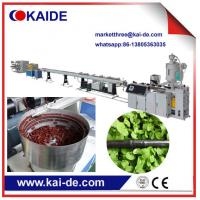 China HDPE drip irrigation line extruder machine supplier from China on sale