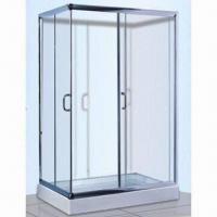 Wholesale Shower room, 5mm tempered glass from china suppliers