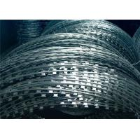 Buy cheap 2.5mm ConcertinaRazor Barbed Wire , Hot DippedGalvanized Razor Wire from wholesalers