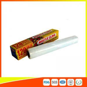 Customized Household Plastic PE Cling Flim Wrap Food Grade 120 Meter Length