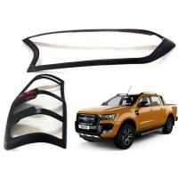 Wholesale Head Lamp Tail Lamp Bezels and Handle Garnish for 2016 2018 Ford Ranger T7 from china suppliers
