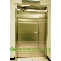 Wholesale Chemical Resistant Stainless steel 90 min fire rated industrial hinged door from china suppliers