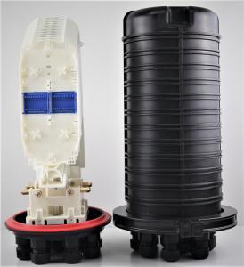 Buy cheap 288 core FTTH Fiber Optic Joint Closure , Big capacity fiber box PP ABS 12tray from wholesalers