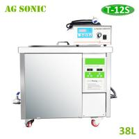 Wholesale AG SONIC 38L Fuel Nozzles Ultrasonic Cleaner 1 Year Warranty T-12S from china suppliers