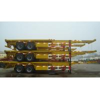 Buy cheap Container trailer tires skeletal Trailer in truck trailer - CIMC VEHICLE from wholesalers