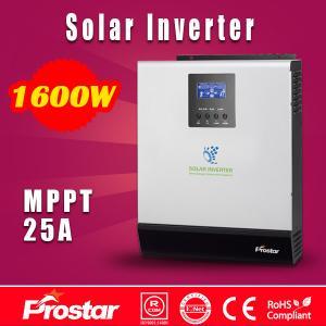 Wholesale Prostar PowerSolar 24V 1600 watt solar panel inverter for home solar system from china suppliers