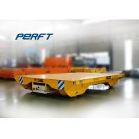 Buy cheap 10t electric battery powered steel plant transfer trolley on concrete floor from wholesalers