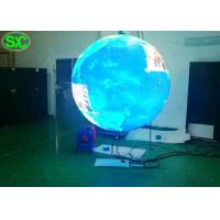 Wholesale 360 Degree Flexible Outdoor Advertising Led Display Screen Indoor Ball Sphere P4.8 from china suppliers