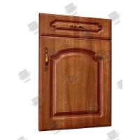 China Home Molded Interior Bifold Closet Door , Bedroom Hollow Core Wood Interior Doors on sale