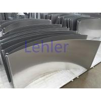 Quality 120 Degree Sieve Bend Screen 585 / 710 / 825mm Non - Clogging Construction for sale