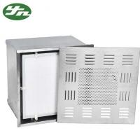 China Stainless Steel ULPA Clean Room Hepa Filter Box 660*660*400mm Out Dimension on sale