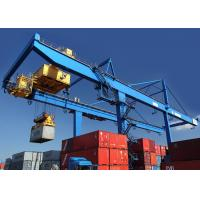 Wholesale Rail Mounted Shipping Container Crane 50 Ton For Harbor / Containers Stockyard from china suppliers