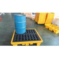 Quality 4 Drum Spill Containment pallets , Spill Pallet and Spill Deck for IBC Drum for sale