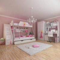 Wholesale E0 Grade Bunk Bed/Kids' Bedroom Set/Children's Furniture/Wooden Bedroom, Princess, Disney, Chair from china suppliers