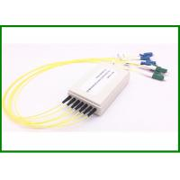Buy cheap OEM 6CH WDM Mux Demux in smaller plasti box with LC / UPC-LC / APC Connector from wholesalers