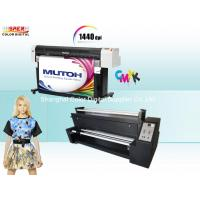 Buy cheap High Precision Mutoh RJ 900c Sublimation Fabric Printer With Epson DX5 Head from Wholesalers