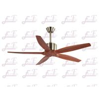 Wholesale East Fan 52 inch five nature wood blades modern ceiling Fans without light from china suppliers