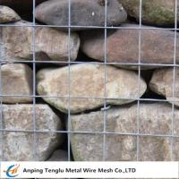 Wholesale Hot Dipped Galvanized Gabion Mesh Cells|Square or Rectangular Mesh Hole from china suppliers