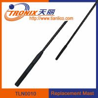 Wholesale car replacement mast antenna/ 1 section mast car antenna/ car antenna accessories TLN0010 from china suppliers