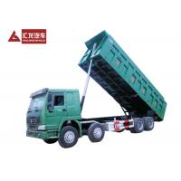 Wholesale HYVA Hydraulic System HOWO A7 8*4 Heavy Duty Tipper Dump Truck 12 Wheeler from china suppliers