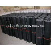 Quality Commercial grade 1mm / 2mm rubber sheet rolls 3800mm wide maximum for sale