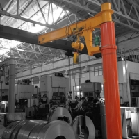 Buy cheap A5 Electric Hoist Portable Wall Mounted Jib Crane from wholesalers
