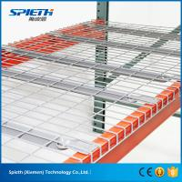 Buy cheap China supplier Q235 steel warehouse storage wire decking pallet rack from wholesalers