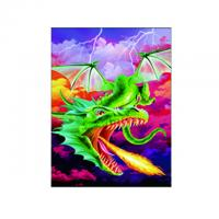 China Eco - Friendly 3D Lenticular Photo For Store With PS / MDF Frame on sale