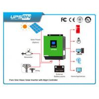 Wholesale High Frequency Inverter Solar Controller All In One With Pure Sinewave from china suppliers
