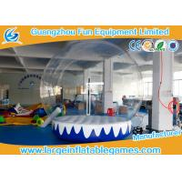 Wholesale 3M 4M Dia Inflatable Advertising Products Inflatable Snow Globe Customized Backdrop Cartoon Background from china suppliers