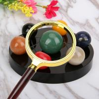 Wholesale 70mm Handheld Reading Magnifier 10x Handheld Magnifying Glass Ergonomics Handle Design from china suppliers