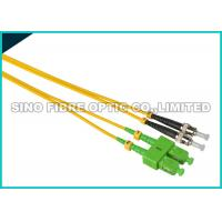 Buy cheap FC - LC Fiber Jumper Cables , Multimode Duplex Fiber Optic Cable 1310nm Wavelength from wholesalers