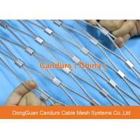 Flexible Steel Cable : Flexible stainless steel cable mesh fence for parrots
