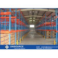 Wholesale 75mm Vertical Adjustable Warehouse Storage Racking Systems For Cold Storage Freezer from china suppliers