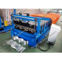 China Composite Decking Sheet Metal Roller , Steel Roll Formers High Performance on sale