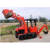 Wholesale 35Hp Mini Dozer Agricultural Farm Crawler Tractor Track with Backhoe Loader from china suppliers