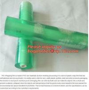 Wholesale PVC packaging film pvc cling film wrap film clear wrapping plastic Stretch Film/ pvc stretch Wrapping Film Roll Cast PVC from china suppliers