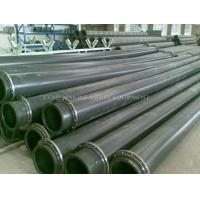 hdpe dredging pipe with pipe floater