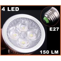 Wholesale high power AC85-265V Cool Warm White 4W GU10 dimmable led spotlight from china suppliers
