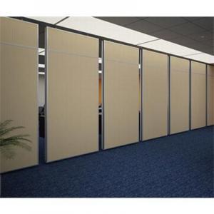 China MDF Bi Fold Doors Flexible Folding Partition Walls Interior Position on sale