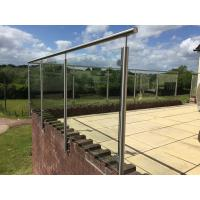 Wholesale Stainless Steel Post for Glass Railing/ Glass Balustrade for Exterior Using from china suppliers